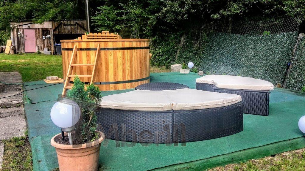 vildmarksbad projekt i Frankrig