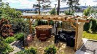 udendørs jacuzzi projekt i Norge