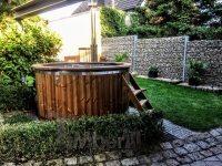 udendørs spa bad med massage Belgien