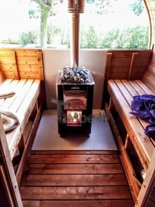 træfyret harvia m3 udendørs sauna varmeapparat