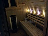 udendørs igloo sauna