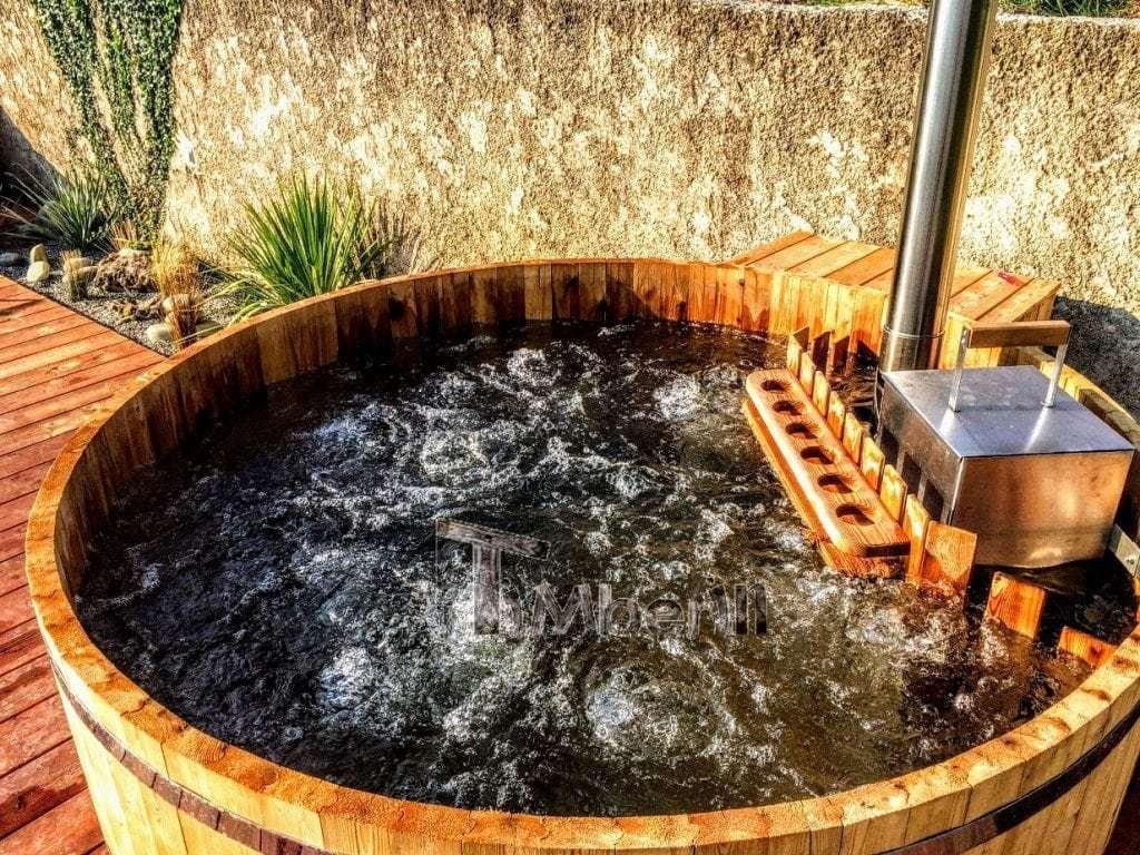 træ hot tub grundlæggende design